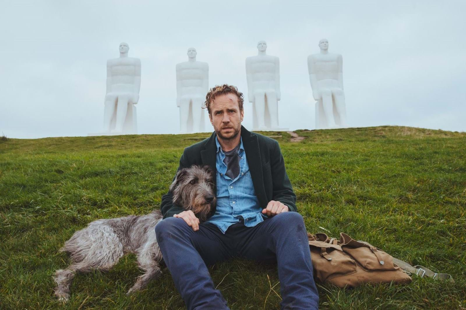 FIRST LOOK AT RAFE SPALL IN DENMARK AS PRINCIPAL PHOTOGRAPHY WRAPS