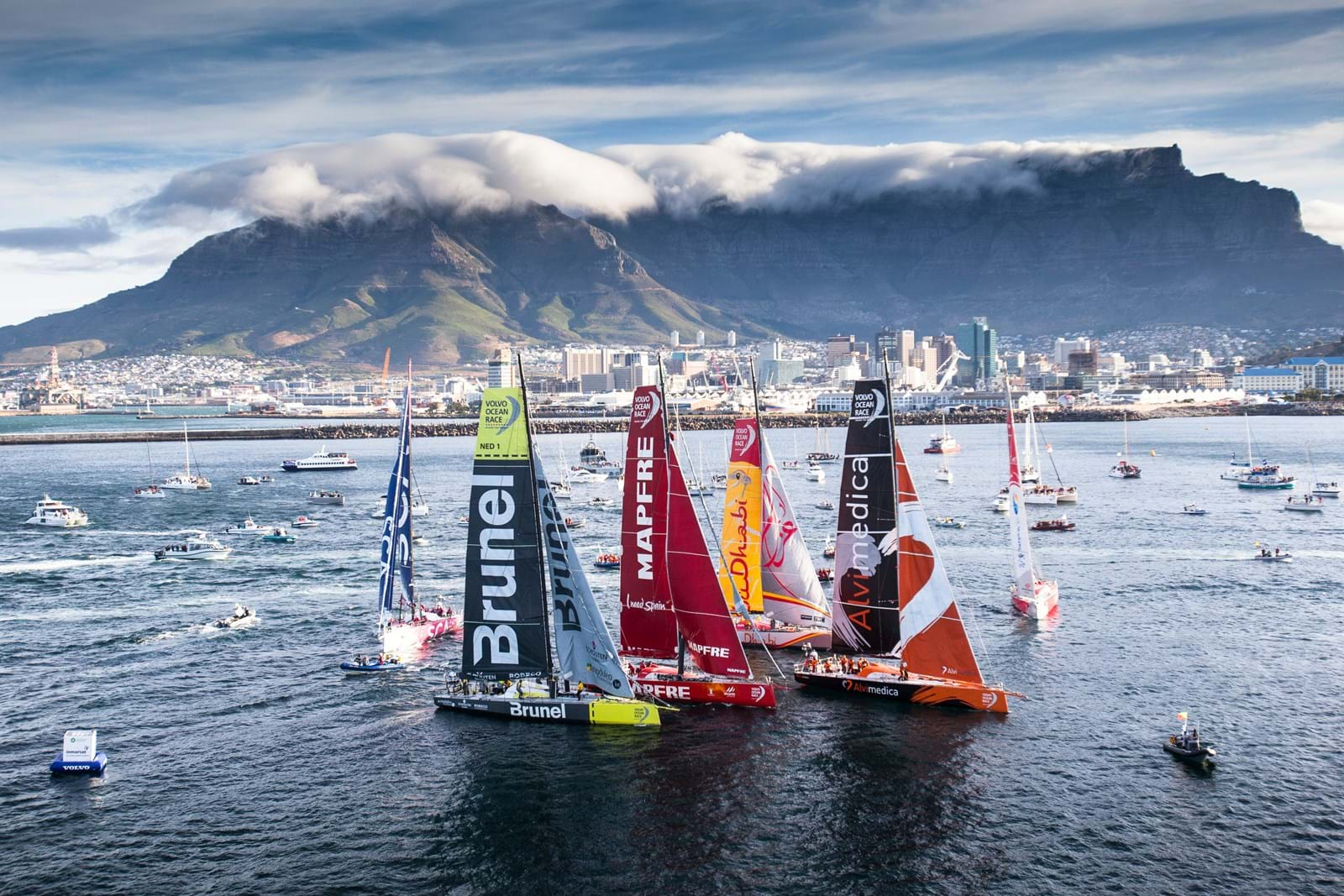 SUNSET+VINE AND VOLVO OCEAN RACE ANNOUNCE RACE BROADCAST PARTNERS